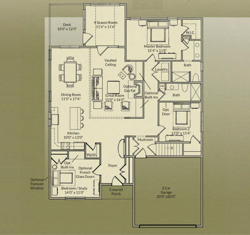 Juniper redbrook for Juniper floor plan