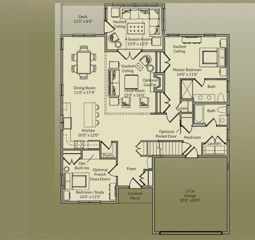 Laurel redbrook a destination village in plymouth ma The laurels floor plan