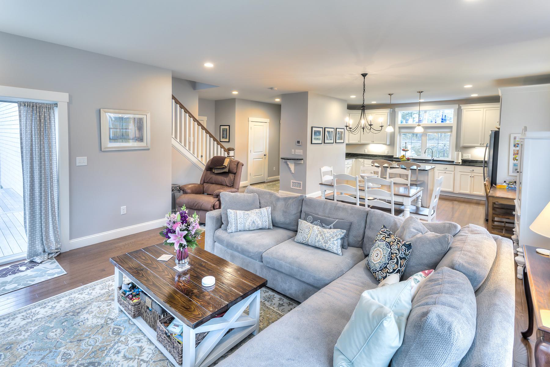 Pleasing View From Living Room To Front Door Redbrook Cjindustries Chair Design For Home Cjindustriesco
